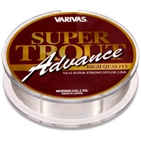Леска VARIVAS Super Trout Advance High Quality 100 м цв. Серый # 0,5