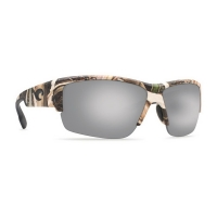 Очки COSTA DEL MAR Hatch 580 P р. XL цв. Mossy Oak Shadow Grass Blades Camo цв. ст. Silver Mirror