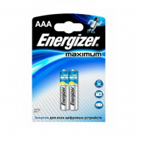 Батарейка ENERGIZER Maximum AAA в бл. 2