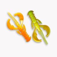 """Рак CRAZY FISH Nimble 1,6"""" (9 шт.) зап. кальмар, код цв. 18d"""
