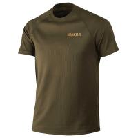 Футболка HARKILA Herlet Tech SS T-shirt цвет Willow green