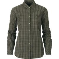 Рубашка женская SEELAND Claire Lady Shirt цвет Olive night check