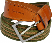 Ремень MAREMMANO 13080/XL Elastic Leather Belt For Trouser Waist р. 95/130 см