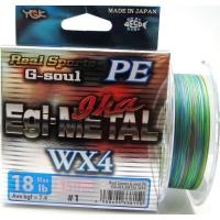 Плетенка YGK Real Sports G-Soul Egi Metal WX4 150 м цв. Многоцветный # 0,4