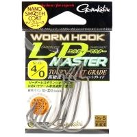 Крючок офсетный GAMAKATSU Worm Hook LD Master NSC № 2/0 (5 шт.)