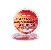Леска SALMO Diamond Winter Red Mono 30 м 0,17 мм цв. красный