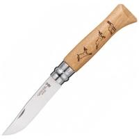 Нож складной OPINEL №8 VRI Animalia Chamois (серна)