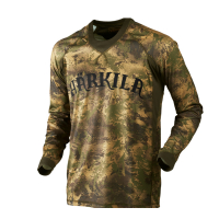 Футболка HARKILA Lynx LS T-shirt цвет AXIS MSP Forest Green