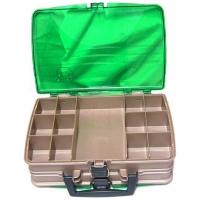 Ящик PLANO 1120-00 двухстороний с прозрачными крышками, 20 отсеков