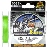 Плетенка GOSEN W8 PE Braid Hard Type 150 м Light Green 0,187 мм