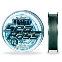 Плетенка LINE SYSTEM Sea Bass Hard PE 4 Braide # 1,2