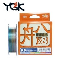 Плетенка YGK Veragass X8 200 м #1.0