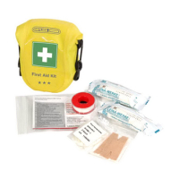 Аптечка ORTLIEB First-Aid-Kit Safety Level водонепроницаемая 0,6 л цв. желтый