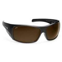 Очки MAKO Indestructible Shiny Black / PC Brown