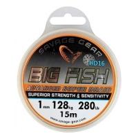 Леска SAVAGE GEAR Big Fish HD16 Braid 15 м 1 мм цв. прозрачный