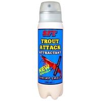 Аттрактант-спрей SFT Trout Attack с запахом креветки