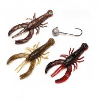 Набор приманок SAVAGE GEAR 3D Crayfish kit (3 + 1 шт.) 8 см