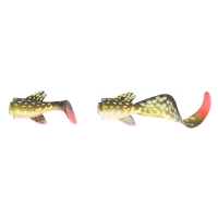 Приманка SAVAGE GEAR 3D LB Hybrid Pike 17 Spare Tail Kit цв. 02-Yellow Pike