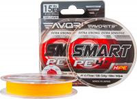 Плетенка FAVORITE Smart PE 4x 150 м 0,117 мм цв. оранжевый