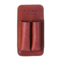 Подсумок RISERVA 2 патрона (300/375 клб) кожа