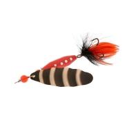 Блесна вращающаяся NORSTREAM Marble Fly № 2 7 г цв. black black / orange fly
