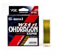 Плетенка YGK G-soul Ohdragon WX4-F1 150 м цв. Многоцветный # 0,6