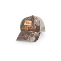 Бейсболка COSTA DEL MAR Bass Trucker Hat цв. Real Tree Camo / Stone