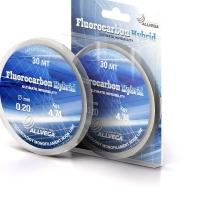 Флюорокарбон ALLVEGA Fluorocarbon Hybrid 0,09 мм 30 м 0,98 кг