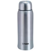 Термос TIGER MBK-A100 XS, 1л (нержавеющая сталь, цвет серебристый, горловина 6,7см, крышка-кружка)