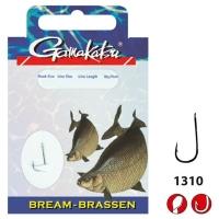 Крючок с поводком GAMAKATSU BKS-1310N Bream 45 см № 14 д. поводка 0,12 (10 шт.)