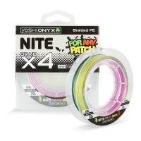 Плетенка YOSHI ONYX Nite 4 Multicolor 150 м # 1.1
