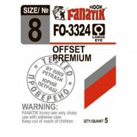 Крючок офсетный FANATIK FO-3324 № 4 (5 шт.)
