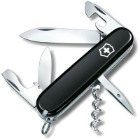 Нож VICTORINOX Spartan р. 91 мм, 12 функций, цв. черный, блистер