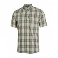 Рубашка SITKA Globetrotter Shirt SS цвет Aluminum Plaid