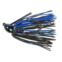 Бактейл STRIKE KING Pro-Glo Bitsy Bug mini jig 5,25 г (3/16 oz) цв. black / blue