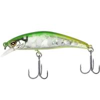 Воблер JACKALL TIMON Tricoroll Ryushin 53HW цв. flash green back