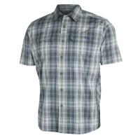 Рубашка SITKA Globe Trotter Shirt SS цвет Shadow Plaid