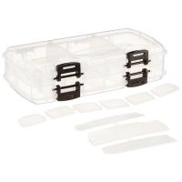 Коробка PLANO 3450-22 Коробка двухсторонняя для приманок,12-18 отсеков