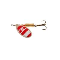 Блесна вращающаяся NORSTREAM Aero Spinner № 1 3,5 г цв. silver / red / white