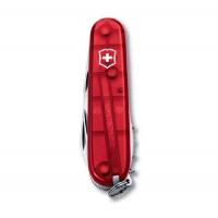 Нож VICTORINOX Spartan красный полупрозрачный 12 функций 91 мм карт.коробка