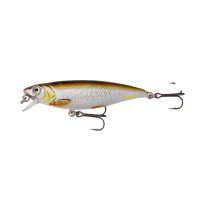 Воблер SAVAGE GEAR 3D Twitch Minnow SS 6,6 см цв. 02-Green Silver Ayu