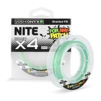Плетенка YOSHI ONYX Nite 4 Green 150 м # 0.8