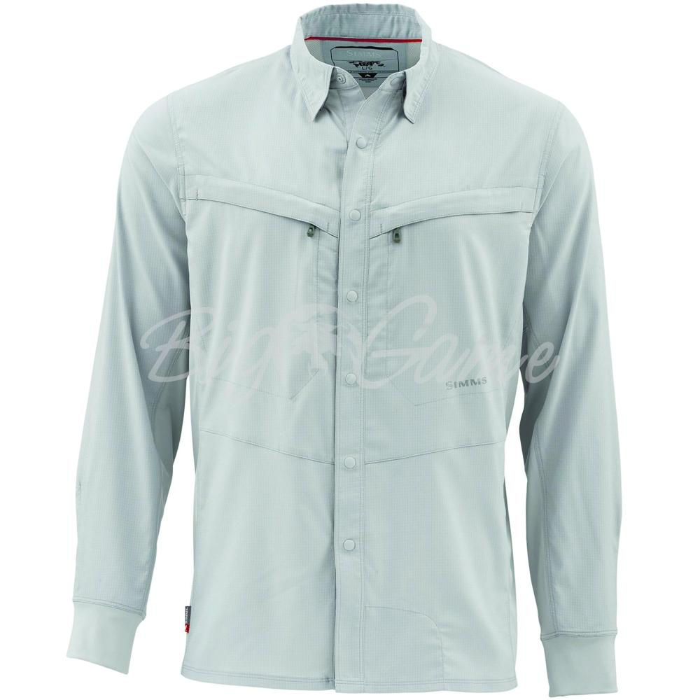 38bcf4da6f5 Купить рубашку SIMMS Intruder Bicomp Shirt цвет Sterling в интернет ...