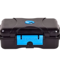 Чехол для очков COSTA DEL MAR Dry Case цв. Black/ Blue