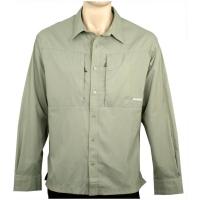 Рубашка CLOUDVEIL Clc Cl LS St цвет Swamp
