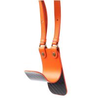 Разгрузка-подвес HUNTINGHORN Углеволокно / Кожа цв. Оранжевый