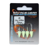 Джиг-Головка SAVAGE GEAR Sandeel Micro Jig Head № 2 7 г (4 шт.)