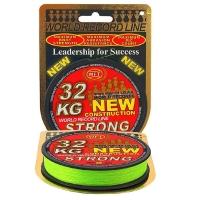 Плетенка WFT Strong 150 м цв. chartreuse 0,22 мм