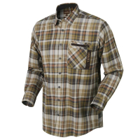 Рубашка HARKILA Newton LS Shirt цвет Tapenade check