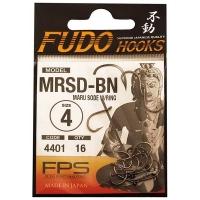 Крючок одинарный FUDO 3201 Maru Seigo с кольцом № 1/0 BN (8 шт.)